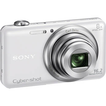 Sony Cyber-shot DSC-WX80 Digital Camera (White)