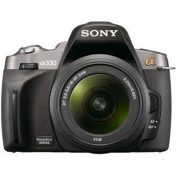 Sony Alpha A330 Digital SLR with 18-55mm Lens (Black)