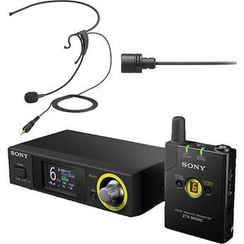 Sony DWZ Series Digital Wireless Headset & Lavalier Set