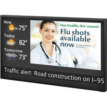 "Sony FWDS55H2/DS 55"" S-Series Digital Signage Bundle"