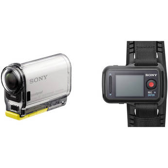 Sony HDR-AS100VR POV Action Cam + Live-View Remote Bundle