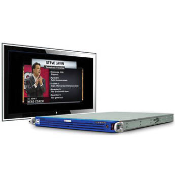 Sony ChyronHego LyricPro for MVS Video Production Switchers