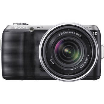Sony Alpha NEX-C3 Digital Camera with 18-55mm Lens (Black)