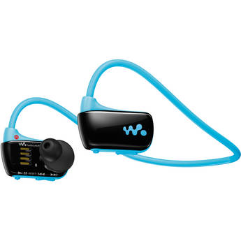 Sony NWZ-W273 W Series Walkman Sports MP3 Player (Blue)