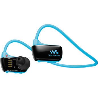 Sony 4GB W Series Walkman Sports MP3 Player (Blue)