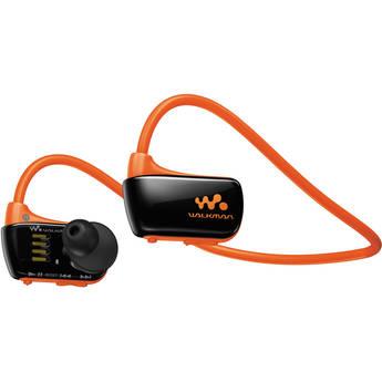 Sony 4GB W Series Walkman Sports MP3 Player (Orange)