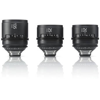 Sony CineAlta 4K Three Lens Kit (PL Mount)