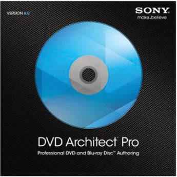 Sony DVD Architect Pro 6.0 (Standard Edition, Download)