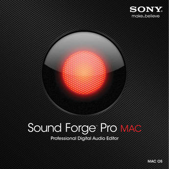 Sony Sound Forge Pro Mac - Digital Audio Editing Software (Upgrade, Academic)