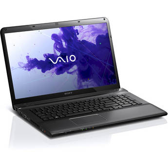 "Sony VAIO E Series 17 SVE17137CXB 17.3"" Notebook Computer (Black)"