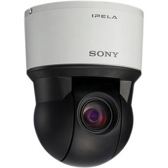 Sony SNC-ER520 60W HPoE Unitized Outdoor SD Rapid Dome Camera