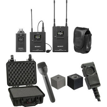 Sony UWP-V6 ENG Wireless Deluxe Kit (42/44 - 638 to 662MHz)