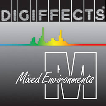 Sound Ideas Digiffects Mixed Environments: Series M - Sound Effects Library (Electronic Download)