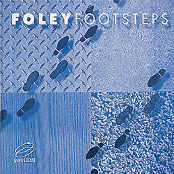 Sound Ideas Foley Footsteps - Sound Effects Library (Electronic Download)
