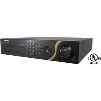 Speco Technologies 24-Channel GS Hybrid DVR with Digital Deterrence & 8TB HDD