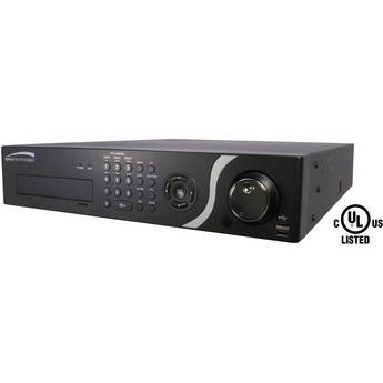 Speco Technologies D24PS 24-Channel PS Hybrid DVR with Digital Deterrent & 2TB HDD