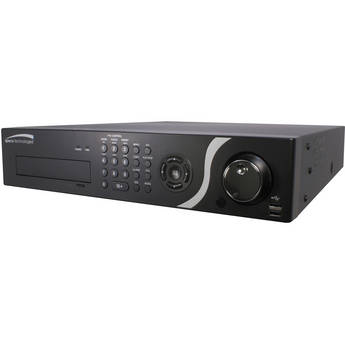 Speco Technologies D24PS 24-Channel PS Hybrid DVR with Digital Deterrent & 4TB HDD