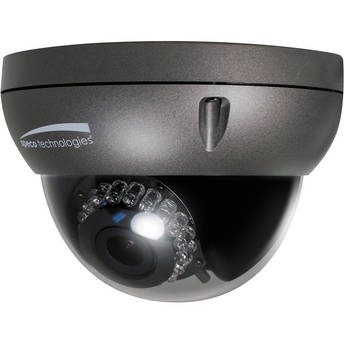 Speco Technologies O2D4 OnSIP Series True Day/Night Indoor/Outdoor Dome IP Camera with 3.6 to 16mm Auto Iris Varifocal Lens