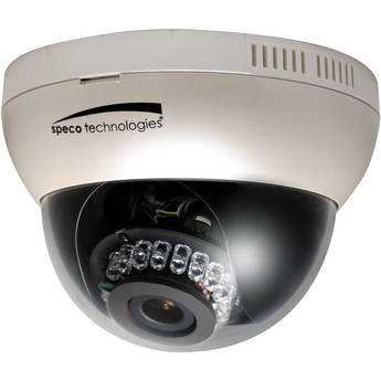 Speco Technologies O2DP8 OnSIP Series True Day/Night Indoor Dome IP Camera with 3.6 to 16mm Auto Iris Varifocal Lens