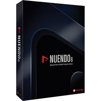 Steinberg Nuendo 6 + NEK - Audio and Post Production Software (Update from Nuendo 4 + NEK)