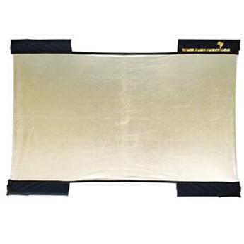Sunbounce Micro-Mini Sun-Bounce Zig Zag Gold/White Screen (2 x 3')