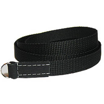 "Sunlows Poly Camera Strap with Ring (45.3"", Black Ends)"
