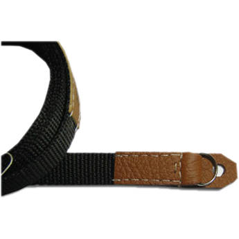 "Sunlows Poly Camera Strap with Ring & Lug Protector (49.2"", Brown Ends)"