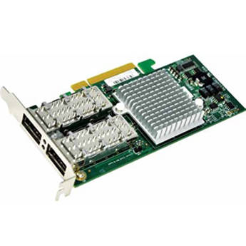 Supermicro Dual-Port InfiniBand QDR UIO Adapter Card with PCI-E 2.0 & Virtual Protocol Interconnect