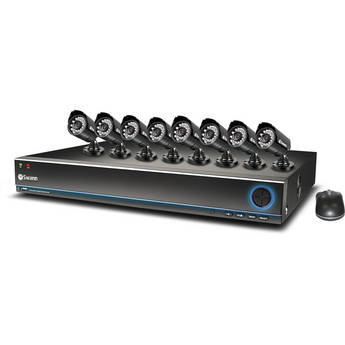 Swann 16-Ch TruBlue DVR with 1TB HDD and 8 Pro-530 Cameras Kit