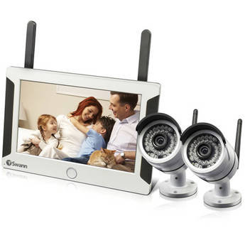 Swann NVW-470 All-in-One SwannSecure System with Two Cameras