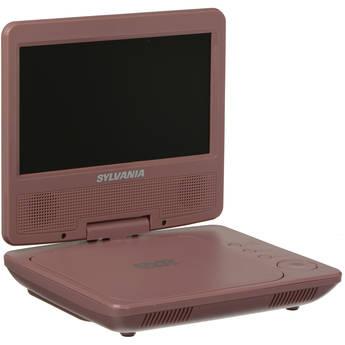 "Sylvania SDVD7014 7"" Portable DVD Player (Pink)"