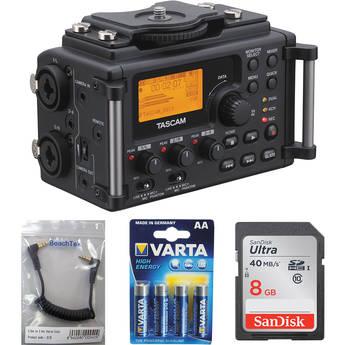 Tascam DR-60D to Camera Essentials Kit
