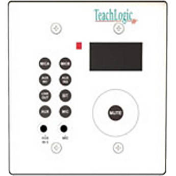 TeachLogic Wall Mount Control Panel with Bluetooth for Select Wireless Systems