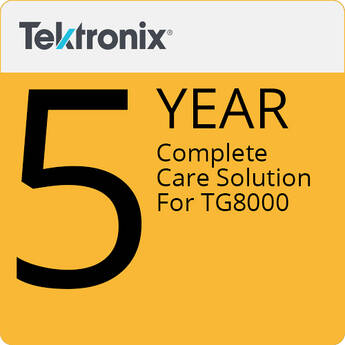 Tektronix 5-Year Complete Care Solution For TG8000