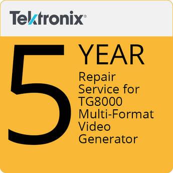 Tektronix 5-Year Repair Service For TG8000 Multi-Format Video Generator