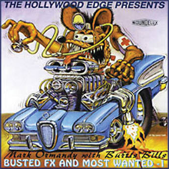 The Hollywood Edge Busted FX and Most Wanted Sound Effects Library (Download)