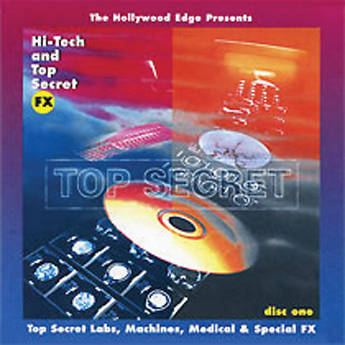 The Hollywood Edge Hi-Tech & Top Secret Sound Effects Library (Download)