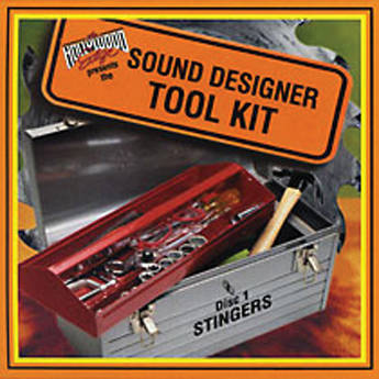 The Hollywood Edge Sound Designer Tool Kit 1 Sound Effects Library (Download)