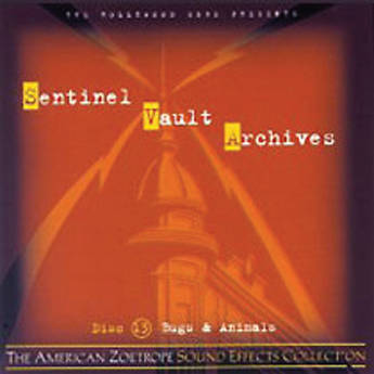 The Hollywood Edge Sentinel Vault Archives Sound Effects Library (Hard Drive, Mac Formatted)