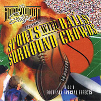 The Hollywood Edge Sports with Balls and Surround Crowds Sound Effects Library (Download)