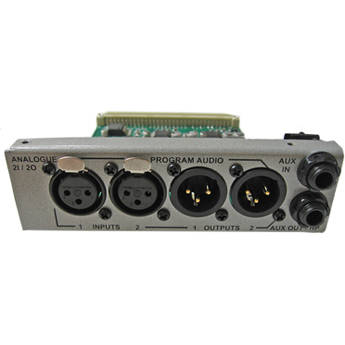 Tieline Analog Input/Output Device for Commander G3 Rack Audio Codec