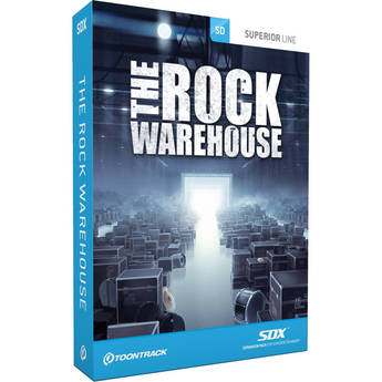 Toontrack The Rock Warehouse SDX - Drum Sample Library