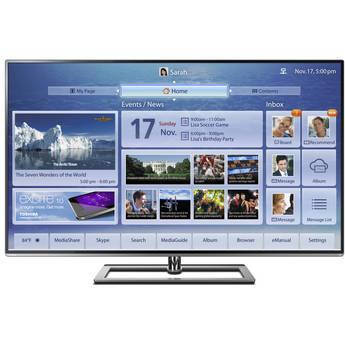 """Toshiba 65L9300U 65"""" 4K Ultra HD 3D Ultra-Slim Cloud LED TV"""