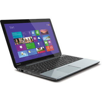 """Toshiba Satellite S55-A5279 15.6"""" Notebook Computer (Ice Silver)"""