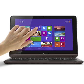 "Toshiba Satellite U925T-S2120 12.5"" Convertible Multi-Touch Ultrabook Computer (Midnight Brown)"
