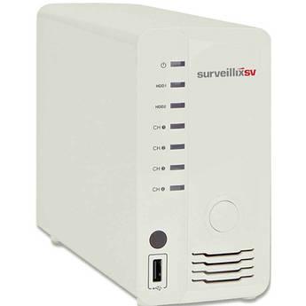 Toshiba Surveillix ESV4-1T 4-Channel Embedded Network Video Recorder (1TB)
