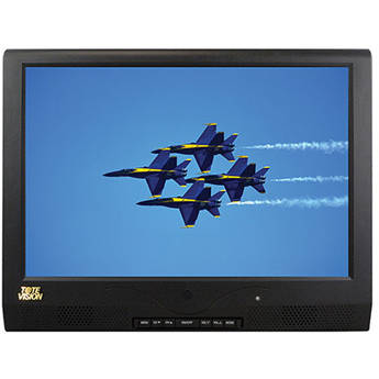 "Tote Vision LED-1214HDTW 12"" Wall-Mount LCD TV/Monitor"