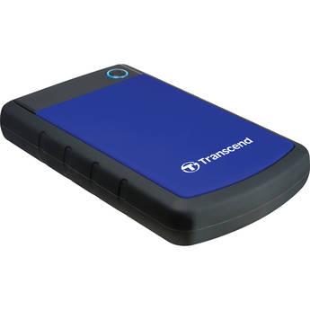 Transcend 1TB StoreJet 25H3P Anti-Shock External Hard Drive (Blue)
