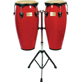 "Tycoon Percussion 10"" & 11"" Supremo Series Congas (Red)"