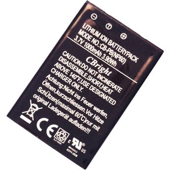 ULTRAMAX NP-60 Lithium-Ion Battery Pack for Select Digital Cameras (3.7V, 1000mAh)